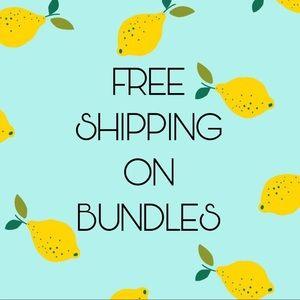 Free shipping on Bundles
